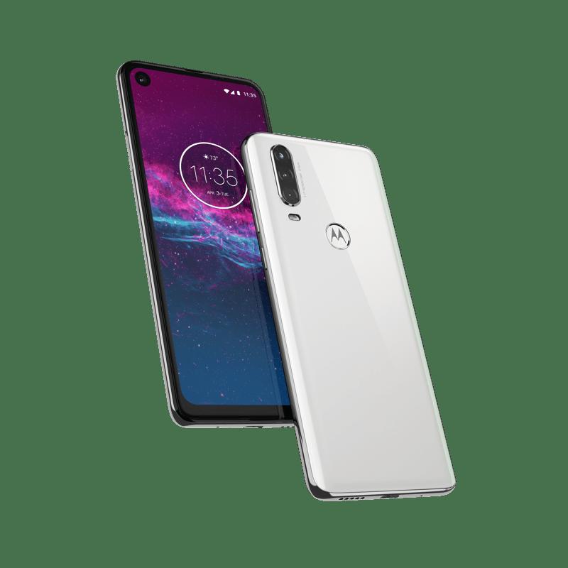 Motorola One Action llega a México ¡ Conoce sus características y su atractivo precio! - motorola-one-action-na-pearl-white-pdp-hero