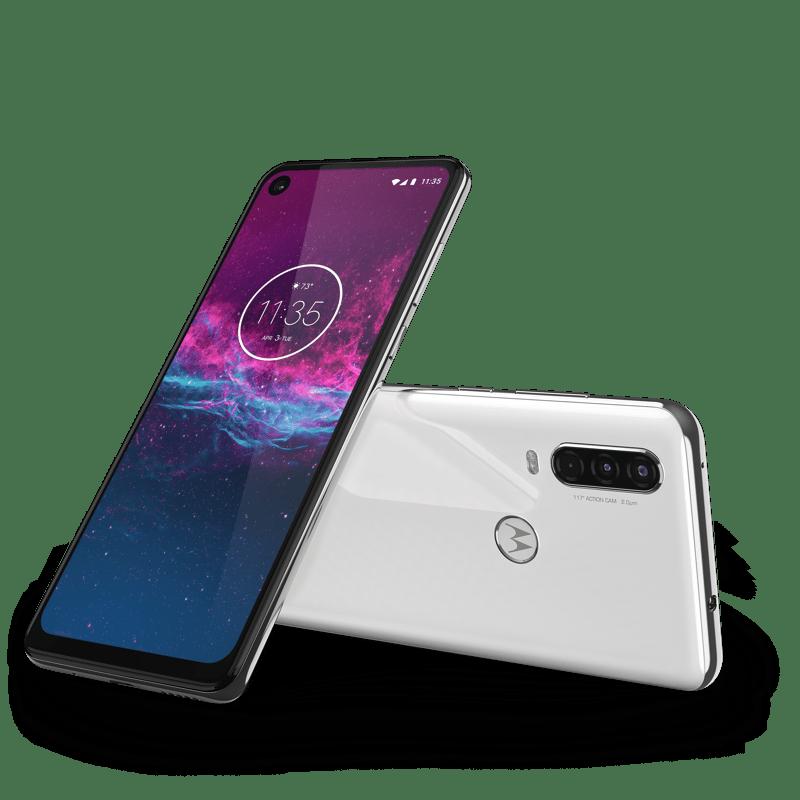 Motorola One Action llega a México ¡ Conoce sus características y su atractivo precio! - motorola-one-action-na-pearl-white
