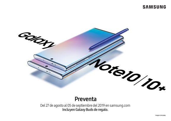 Preventa del Galaxy Note 10 en exclusiva para México es anunciada - preventa-galaxy-note