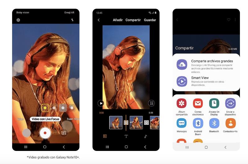Samsung lanza el Galaxy Note 10 y Note 10+¡Conoce sus características y precios! - video-note-10