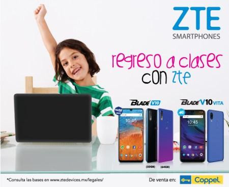 ZTE junto con Coppel lanza promoción para el regreso a clases 2019