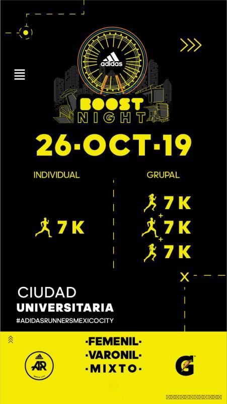 adidas Boost Night: la carrera que iluminará la ciudad - adidas-boost-night-tr