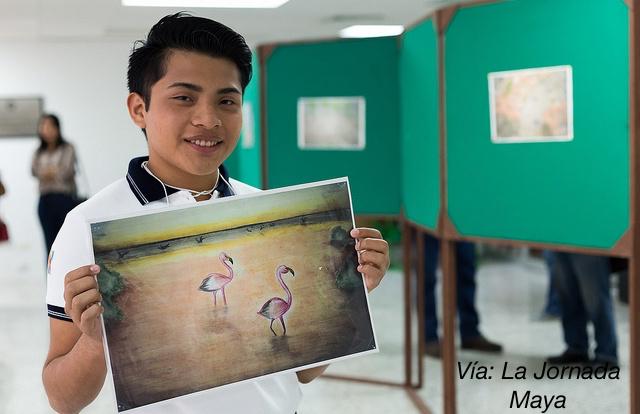 6 jóvenes destacados, orgullosamente mexicanos - alexander-chan-dibujo-ambiental