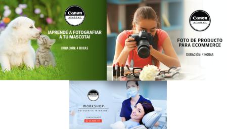 Canon Academy lanza tres workshop de fotografía