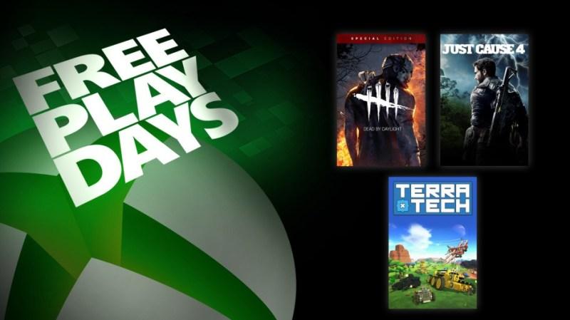 Días de juego gratis: Dead by Daylight: Special Edition, Just Cause 4 y TerraTech - dias-de-juego-gratis-xbox-800x449