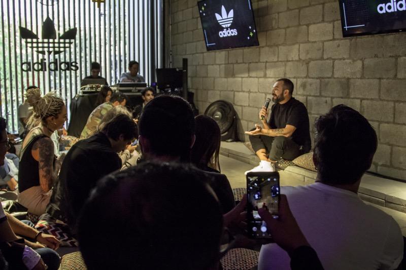 """Masterclass de Distrito adidas por Alejandro Franco """"la música como eje creativo"""" - distrito-adidas-por-alejandro-franco-1"""