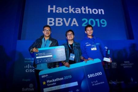 BBVA México da a conocer al ganador del Hackathon BBVA 2019