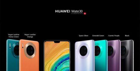 Serie HUAWEI Mate 30 con el chipset más sofisticado que Huawei ha lanzado hasta la fecha