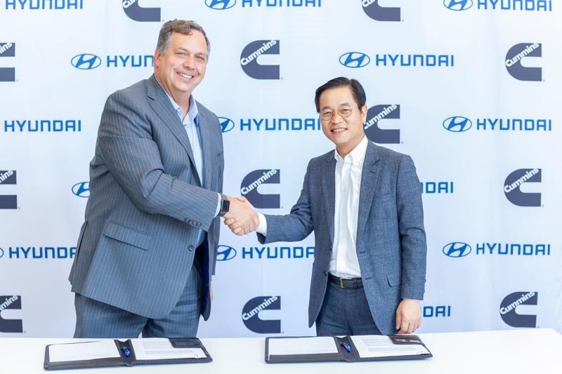 Hyundai y Cummins colaborarán en tecnología de pila de combustible de hidrógeno - hyundai-cummins-mou_1