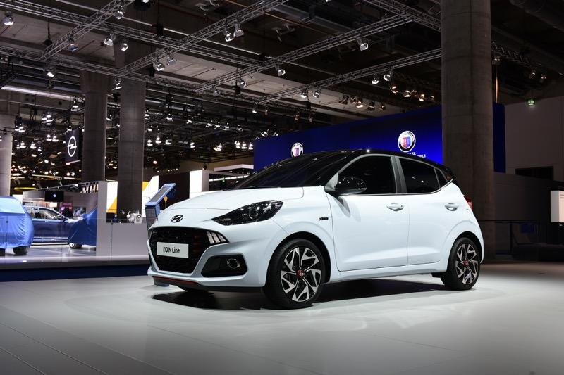 Hyundai Motor presenta el nuevo i10, en el Salón Internacional del Automóvil de Frankfurt (IAA) 2019 - hyundai_i10-n-line