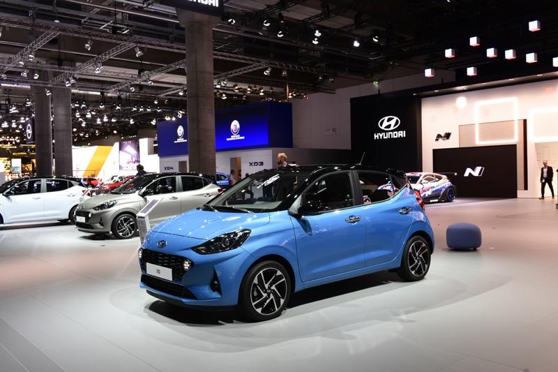 Hyundai Motor presenta el nuevo i10, en el Salón Internacional del Automóvil de Frankfurt (IAA) 2019 - hyundai_i10_1-1-800x533