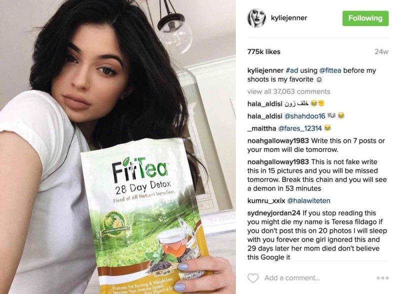 Instagram limitará publicaciones sobre productos para perder peso y procedimientos cosméticos a usuarios mayores de 18 años - instagram-detox-cosmetic-post