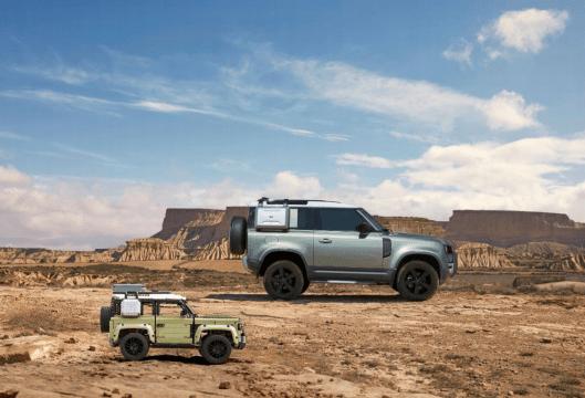Land Rover anuncia alianza con Lego en el estreno mundial del Nuevo Defender - lego-land-rover-defender