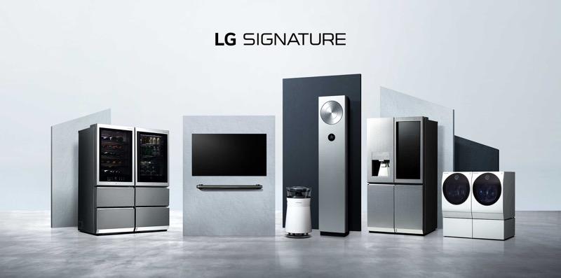 LG SIGNATURE exhibe combinación premium de arte y tecnología en el corazón de Londres