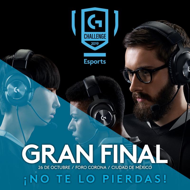 Conoce los equipos mexicanos que irán a la final internacional del torneo de esports Logitech G Challenge - logitech-g-challenge-2019_gran-final-1