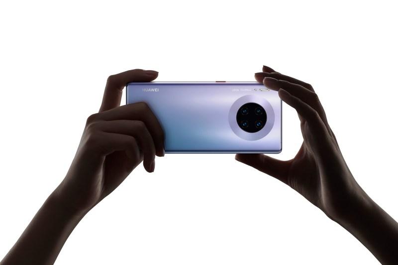 Huawei recibe la máxima calificación gracias a su sistema de cámara del Mate 30 Pro - mate-30-pro_halo