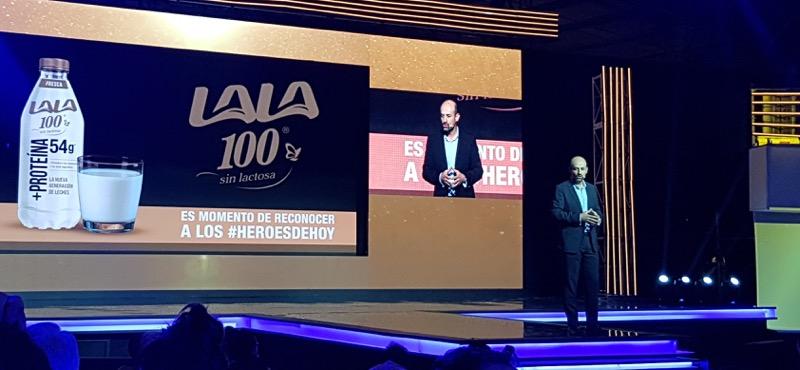 Grupo Lala presenta la nueva campaña de Lala 100, con Chris Evans - miguel-angel-fuertes-vice-presidente-lacteos-lala