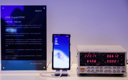 Oppo anuncia SuperVOOC 2.0: promete recargar baterías de 4000 mAh en 30 minutos