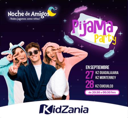 Noche de amigos de KidZania, Pijama Party