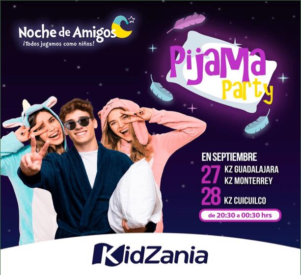 Noche de amigos de KidZania, Pijama Party - pijama-party