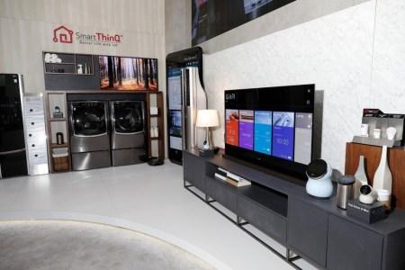 ¿Cómo crear un smart home con LG?
