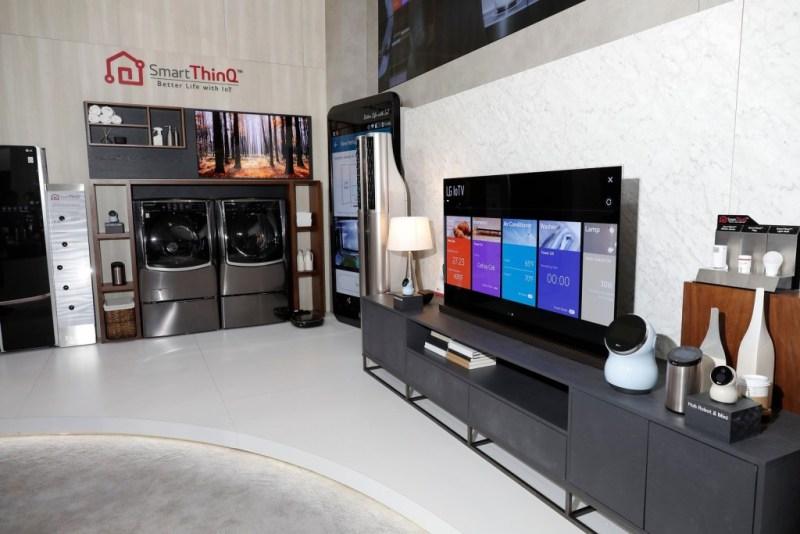 ¿Cómo crear un smart home con LG? - smart-thinq