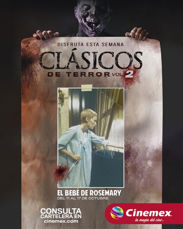 Cinemex presenta la segunda edición de terror con grandes clásicos - clasicos-del-terror-cinemex