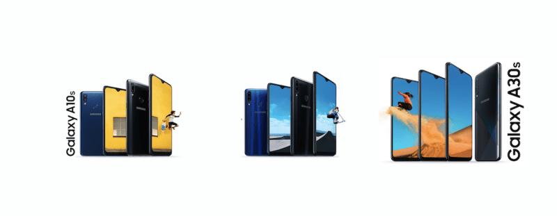Los nuevos Galaxy A10s, A20s y A30s disponibles en México a partir de octubre - galaxy-a10s-a20s-a30s-smartphone