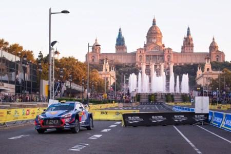 Hyundai se prepara para enfrentar las superficies mixtas del Rally de España