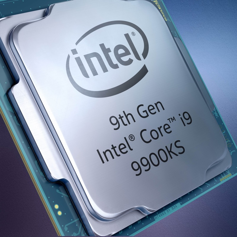 Intel Core i9-9900KS de 9ª Generación, de edición especial, estará disponible el 30 de octubre - intel-core-i9-9900ks-intel