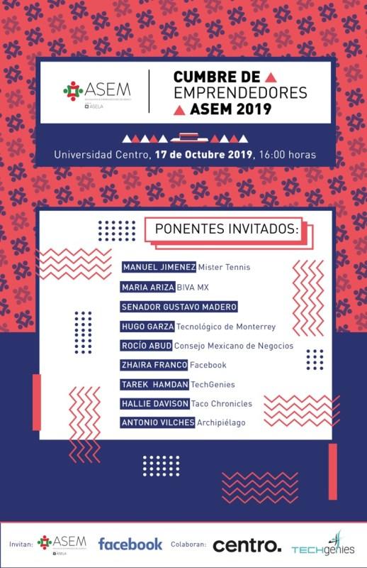 Llega la Segunda Cumbre de Emprendedores ASEM - segunda-cumbre-de-emprendedores-asem-518x800