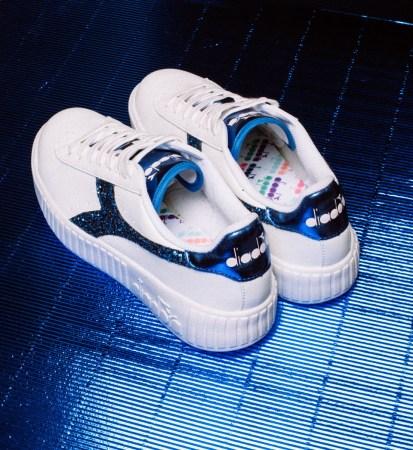 Colección Diadora une dos tendencias más fuertes del 2019: el Glitter y los sneakers