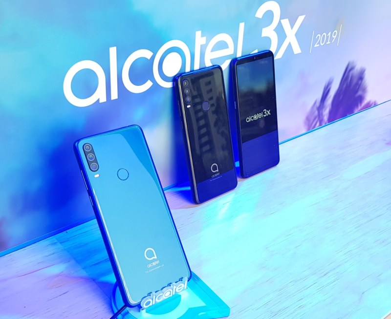 Alcatel 3X 2019 llega a México con triple cámara potenciadas con Inteligencia Artificial - alcatel-3x-smartphone-inteligente