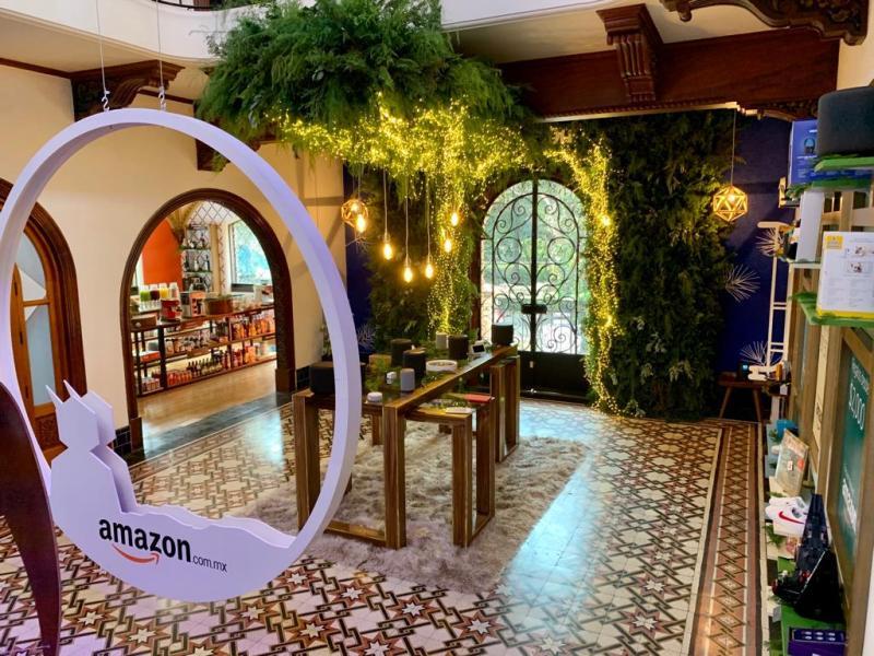 Amazon Holiday House abre sus puertas en CDMX con motivo del Buen Fin - amazon-holiday-house_lobby
