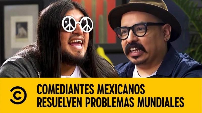 Comedy Central presenta su primera serie exclusivamente para YouTube y redes sociales - carlos-ballarta-y-coco-celis-sobre-obesidad-comediantes-mexicanos-resuelven-problemas-mundiales-800x450