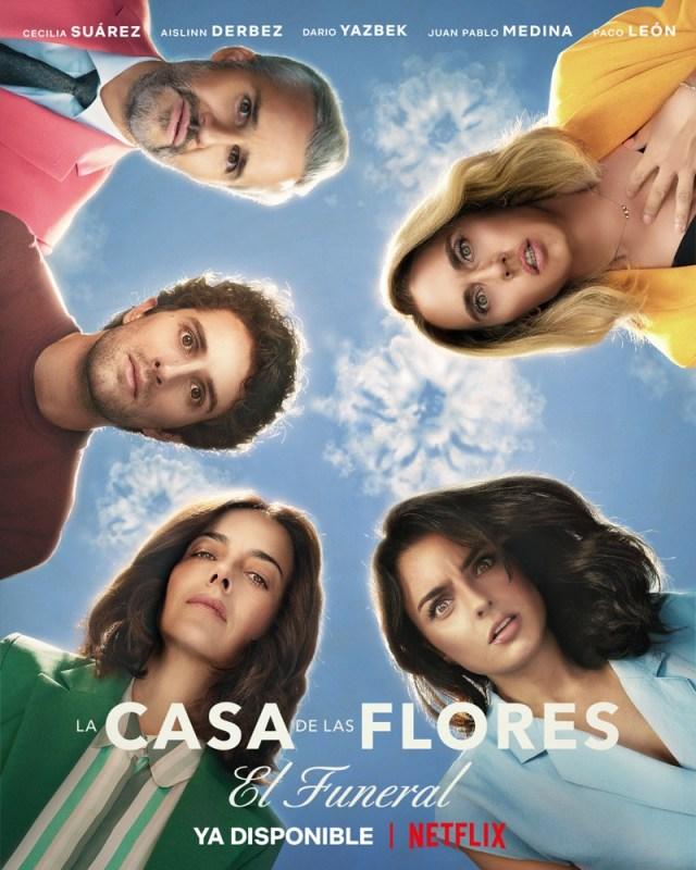 """La casa de las flores presenta: """"El funeral"""" ¡ya está disponible en Netflix! - casa-de-las-flores-funeral"""