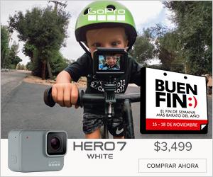 GoPro en el Buen Fin ¡Conoce las ofertas que tiene para ti! - hero-7-white