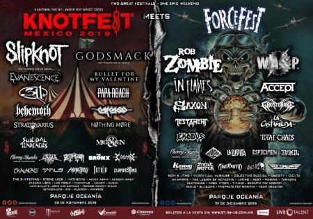 Knotfest Meets Force Fest en México: causa furor internacional
