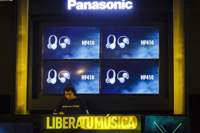 "Pasarela ""Libera tu música"" de Panasonic rompe la barrera entre los gadgets y la moda - libera-tu-musica-panasonic_4-1"
