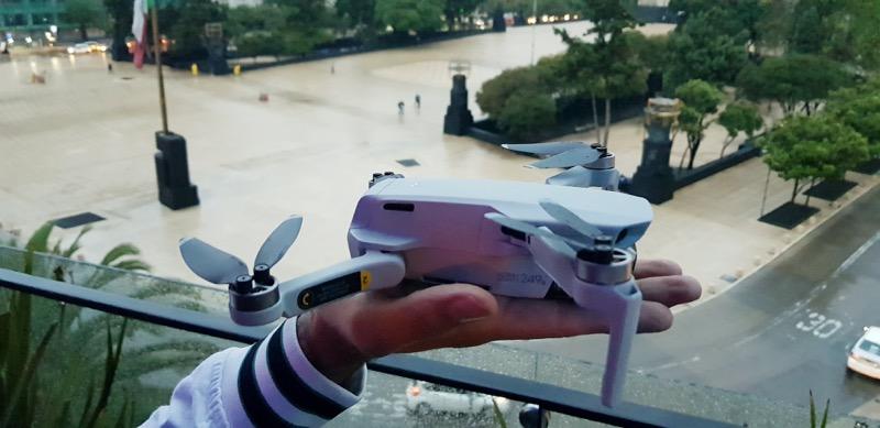Mavic Mini, el dron más pequeño de DJI es presentando en la Cuidad de México - mavic-mini_dji_3