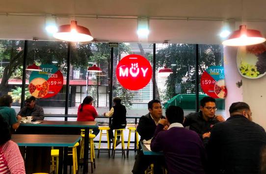 La cadena MUY Tech apertura su primer restaurante en la Cuidad de México - restaurantes-muy-tech