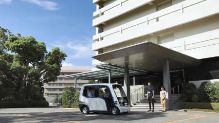 Vehículos autónomos para personal dentro de Panasonic en Japón