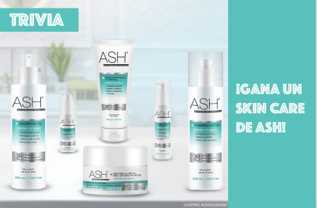 [Trivia] ¡Gana un kit Skin Care de ASH Natural Concept