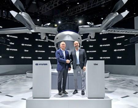 CES 2020: Hyundai y Uber anuncian su alianza y lanzan un nuevo modelo de taxi aéreo
