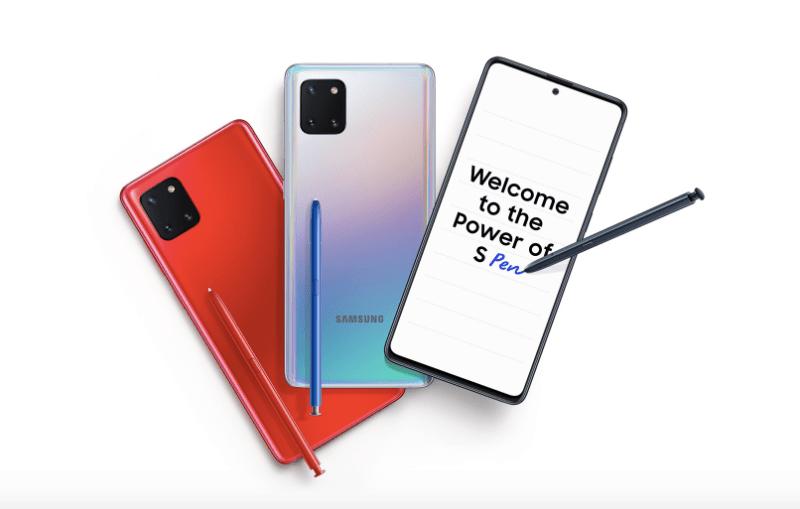 Inicia preventa en línea de los nuevos: Galaxy S10 Lite y Note10 Lite de Samsung - galaxy-note-10-lite-800x509