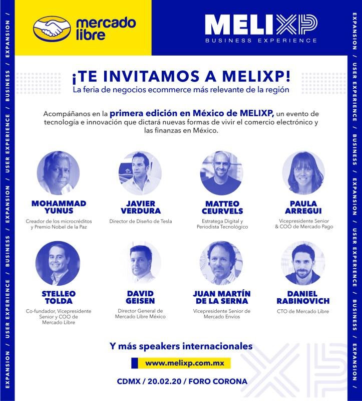 Llega a México: MELIXP la feria de negocios de e-commerce más relevante de Latinoamérica - invitacion-melixp-723x800