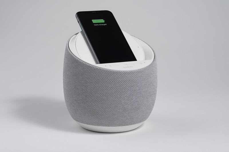 CES 2020: Belkin y Devialet presentan altavoz inteligente de alta fidelidad con carga inalámbrica - soundform-elite-hi-fi-smart-speaker-wireless-charger-4