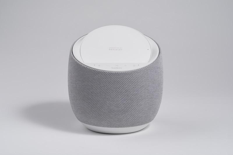 CES 2020: Belkin y Devialet presentan altavoz inteligente de alta fidelidad con carga inalámbrica - soundform-elite-hi-fi-smart-speaker-wireless-charger_2