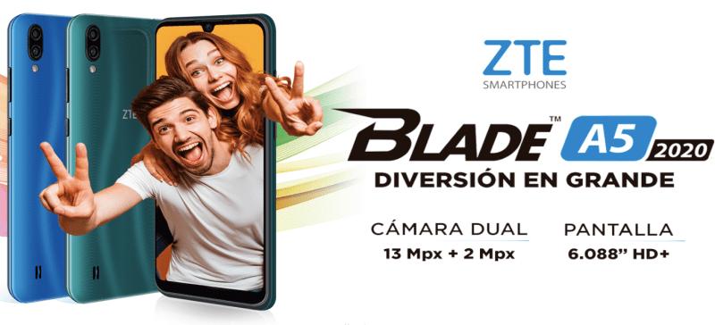ZTE lanza dos nuevos smartphone: segunda versión Blade V10 Vita y ZTE Blade A5 2020 - blade-a5-2020