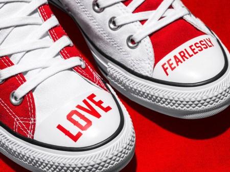 Converse lanza colección Love Fearlessly, celebra la individualidad e inspira al amor propio
